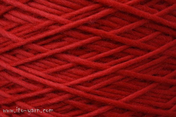 ITO-Yomo-Red-Wool-Roving-Yarn