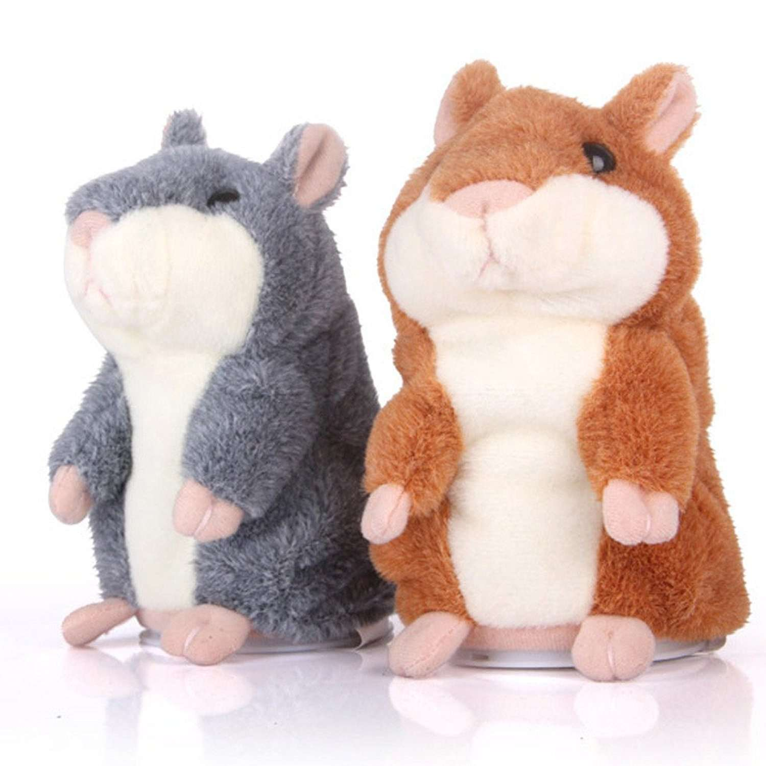 Criceto™ Talking Hamster Plush Toy