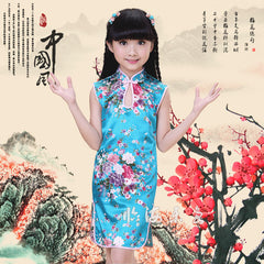 Chinese New Year Qipao for Girls