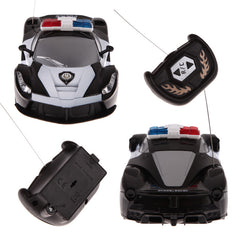 Police RC Drift Car