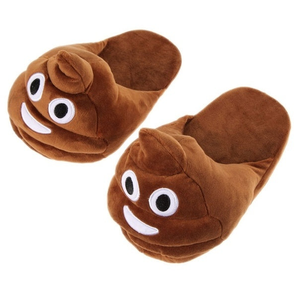 Slipoopers - Emoji Slippers