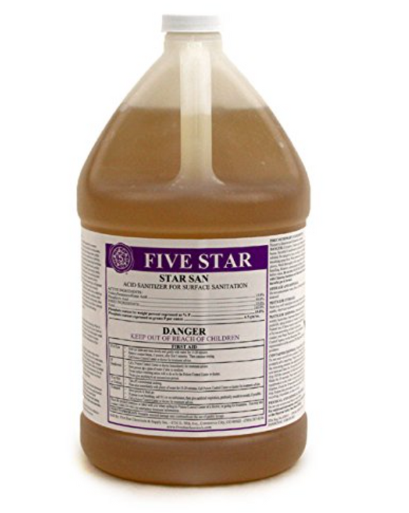 Five Star 1 Gallon Star San No Rinse Acid Sanitizer
