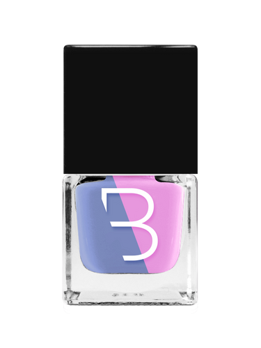 Sacha : le vernis Duo Colors Bleu & Rose