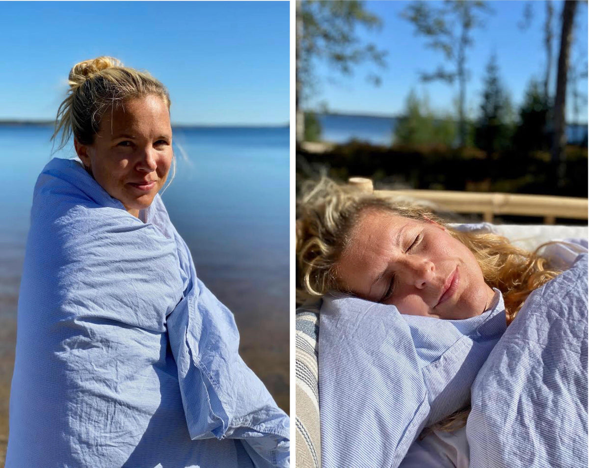 Customer Story - Anja Pärson and her family sleep better with Joutsen
