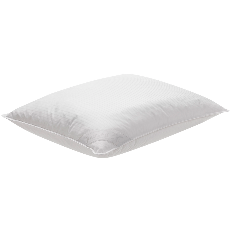 Soft and medium high down pillow 80x80cm - Joutsen - putty