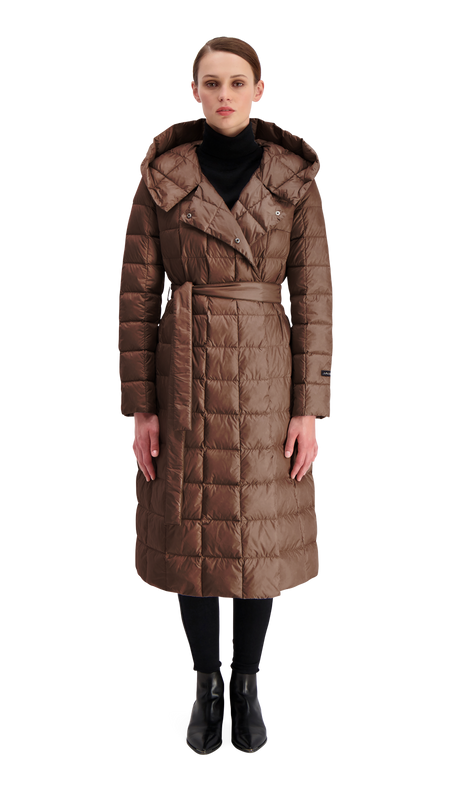 SELJA LIGHT DOWN COAT - Joutsen - d.chocolate