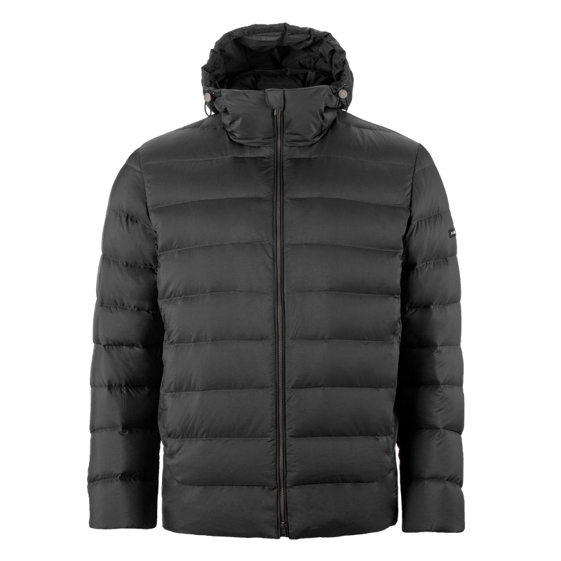 AATOS LIGHT DOWN COAT - Joutsen - black