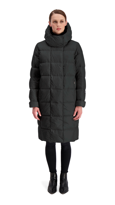ESSI LIGHT DOWN COAT - Joutsen - Black
