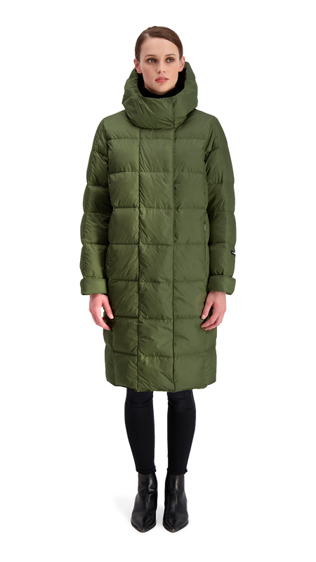 ESSI LIGHT DOWN COAT - Joutsen - forest night