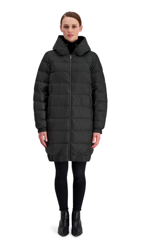 HELY LIGHT DOWN COAT - Joutsen - black