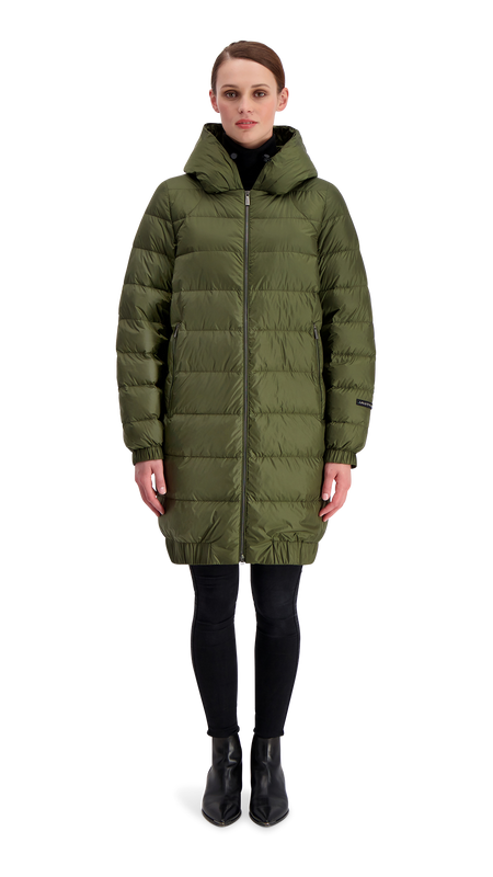 HELY LIGHT DOWN COAT - Joutsen - forest night