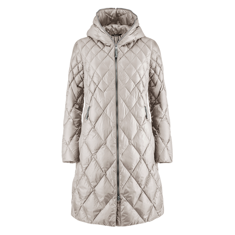 LINDA LIGHT DOWN COAT 2019 - Joutsen - silver grey