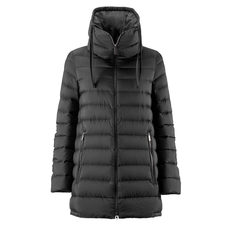 MIMOSA LIGHT DOWN COAT - Joutsen - black