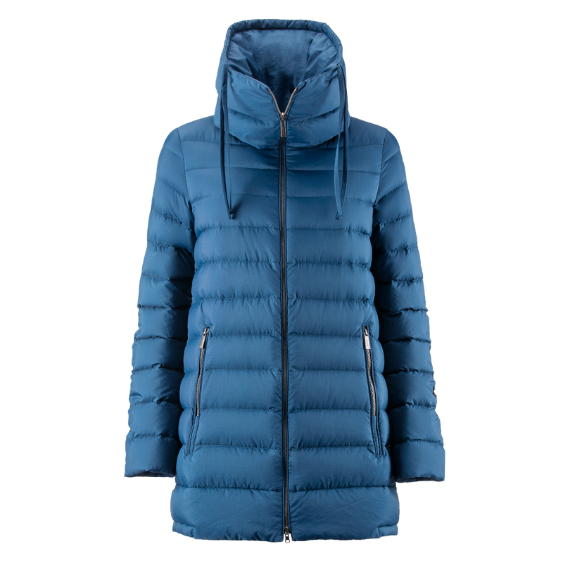MIMOSA LIGHT DOWN COAT - Joutsen - blue ashes