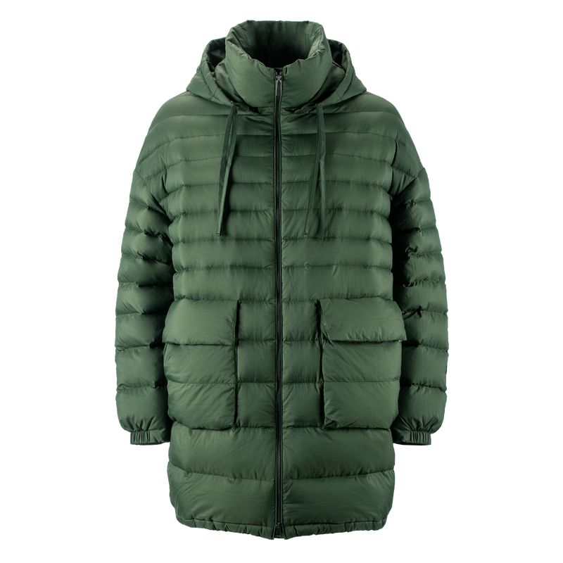 MINTTU LIGHT DOWN COAT - Joutsen - forest night