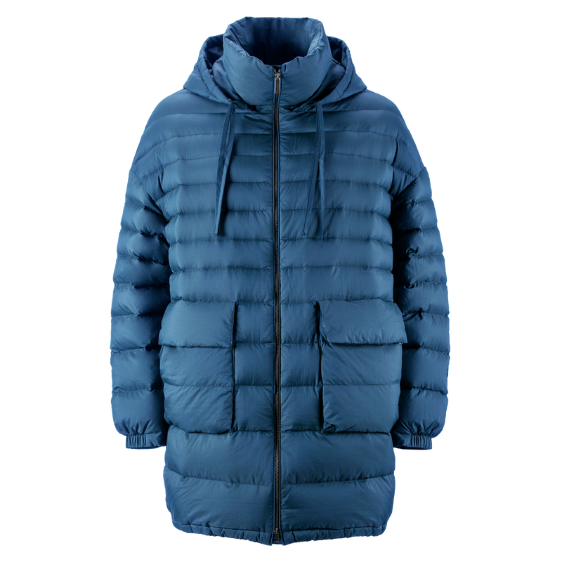 MINTTU LIGHT DOWN COAT - Joutsen - blue ashes