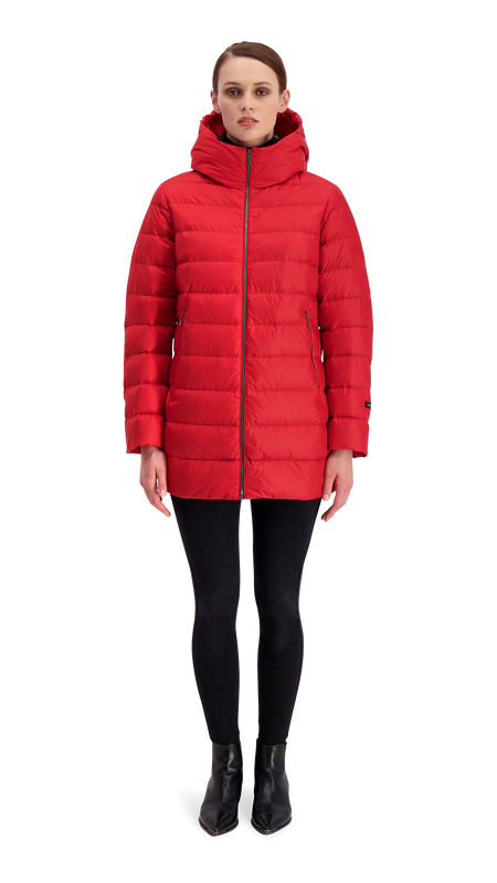 RUUT LIGHT DOWN COAT - Joutsen - Jester Red