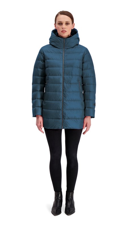 RUUT LIGHT DOWN COAT - Joutsen - Moonlight ocean