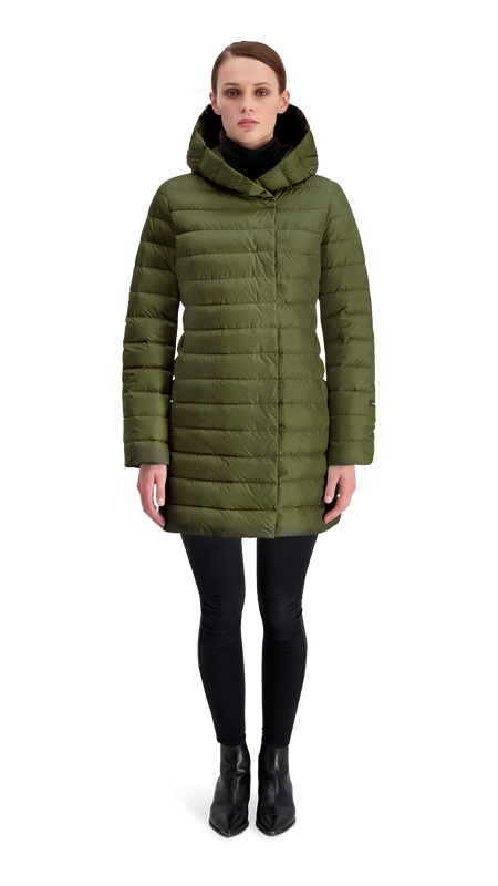 VAULA LIGHT DOWN COAT - Joutsen - forest night