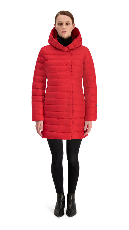 VAULA LIGHT DOWN COAT - Joutsen - Jester Red