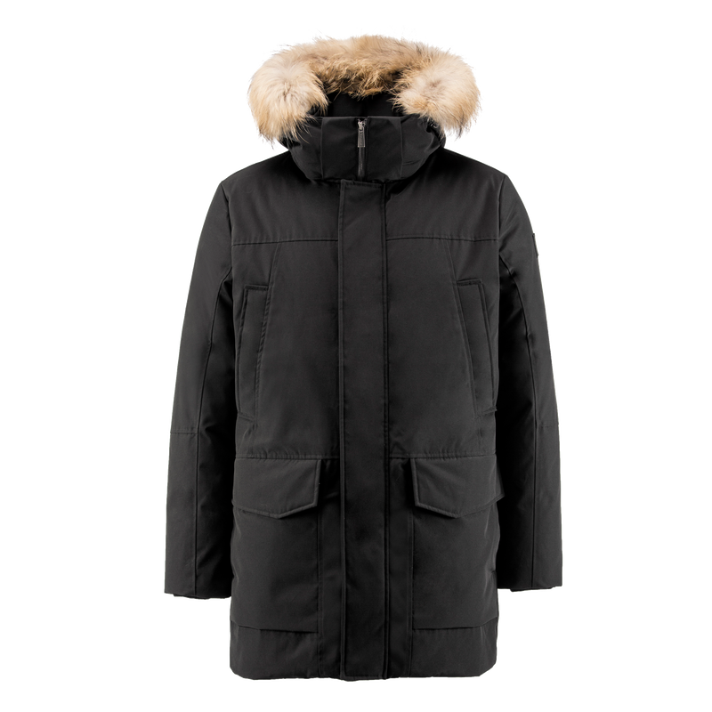 HARMAJA DOWN COAT - Joutsen - black