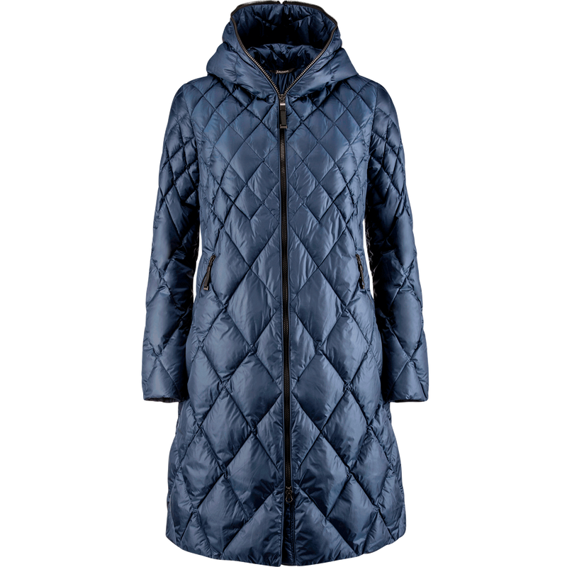 LINDA LIGHT DOWN COAT 2019 - Joutsen - dark denim