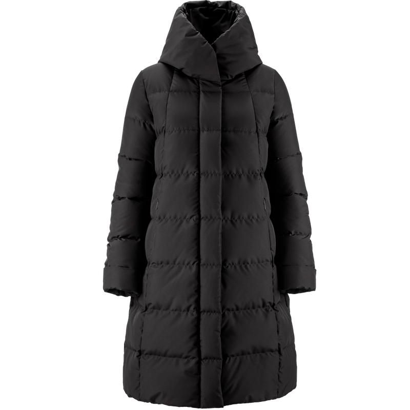 LUME DOWN COAT - Joutsen - black