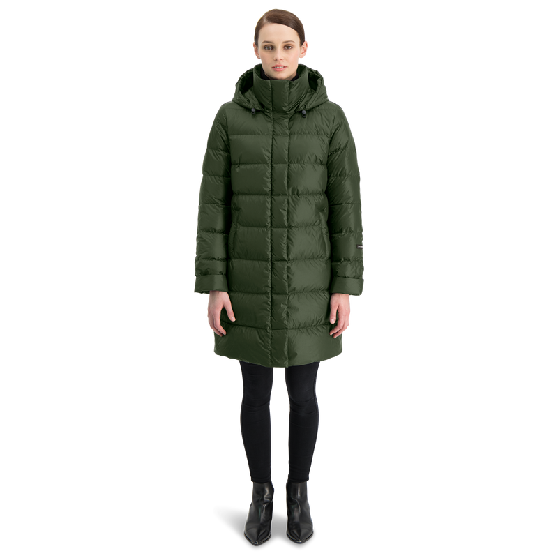 NEELA down coat - Joutsen - jungle green