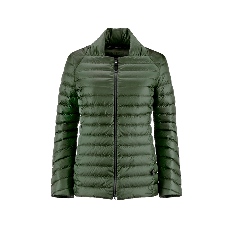 NEILIKKA LIGHT DOWN COAT - Joutsen - jungle green