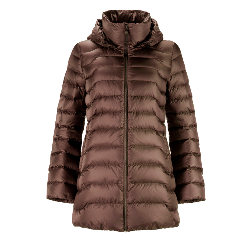 PIHLAJA LIGHT DOWN COAT - Joutsen - d.chocolate