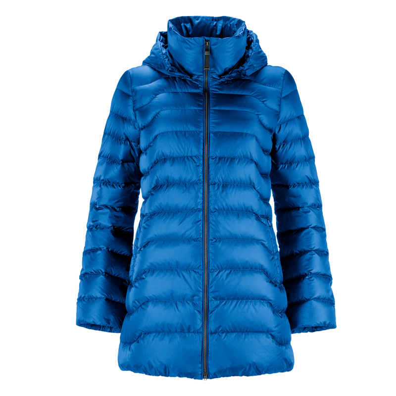 PIHLAJA LIGHT DOWN COAT - Joutsen - sky blue