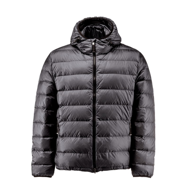 RUSKA LIGHT DOWN COAT - Joutsen - black
