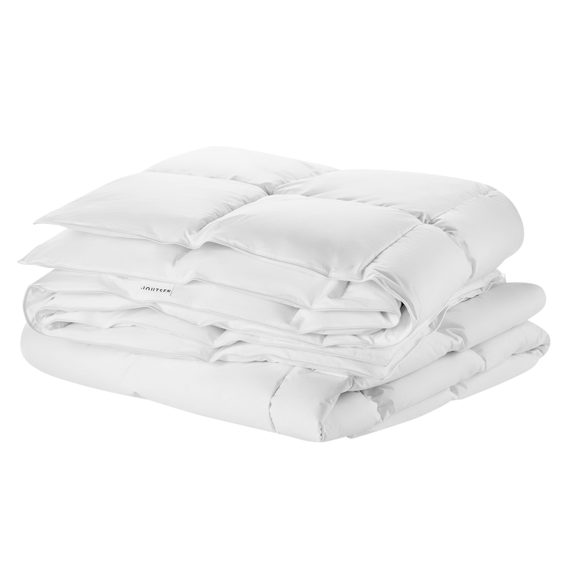 Syli down duvet set - 2 x medium-warm 150x210cm - Joutsen - white