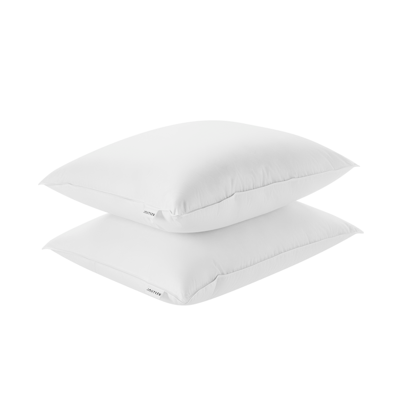 Syli down pillow set - 2 x soft and medium-high - Joutsen - white