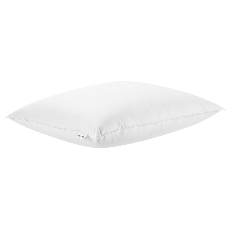 Syli down pillow - soft and medium-high 80x80cm - Joutsen - white