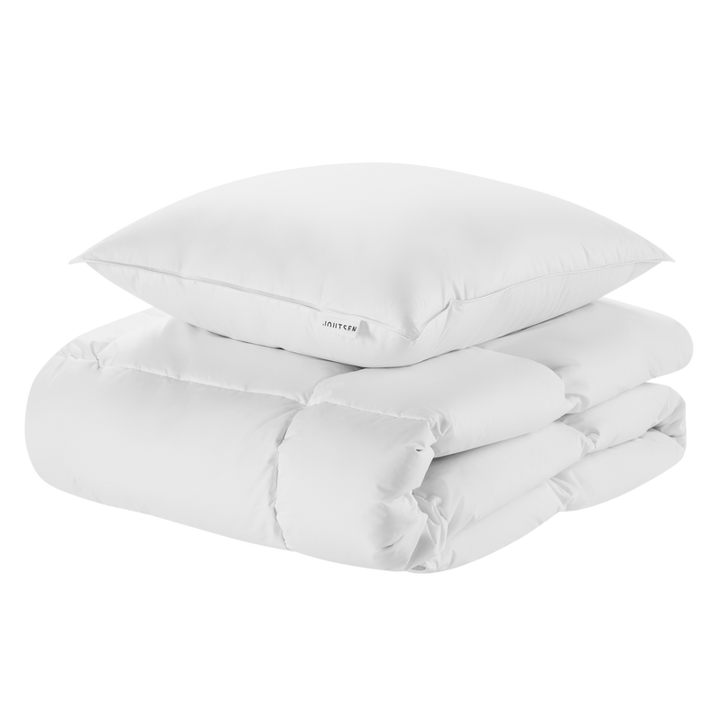 Syli down duvet and down pillow - Joutsen - white