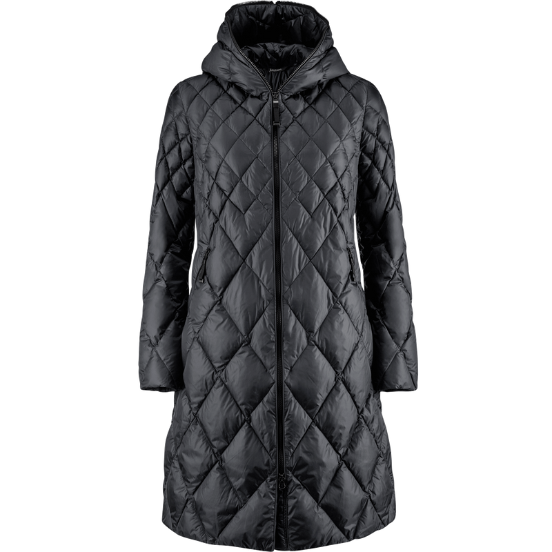 LINDA LIGHT DOWN COAT - Joutsen - black