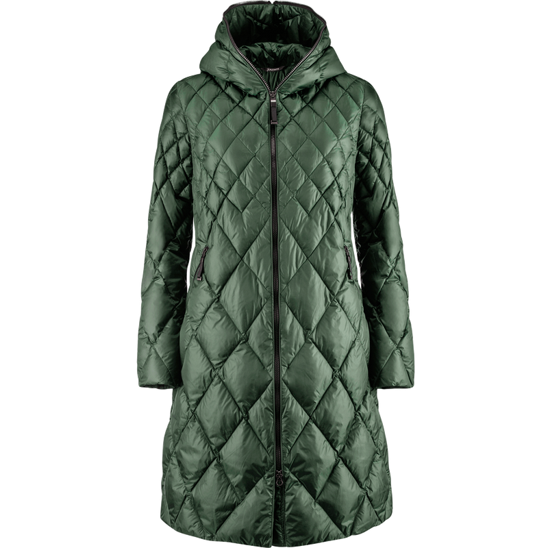 LINDA LIGHT DOWN COAT - Joutsen - jungle green