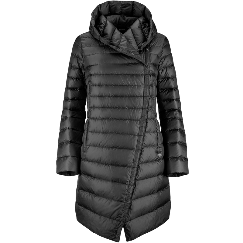 MARILYN LIGHT DOWN COAT - Joutsen - black