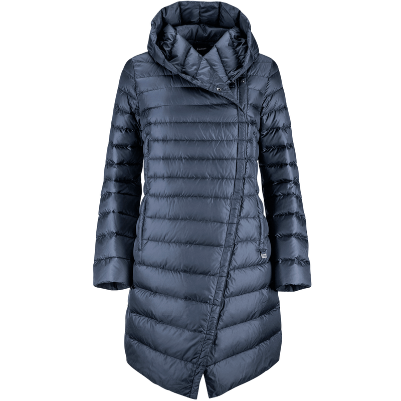 MARILYN LIGHT DOWN COAT - Joutsen - dark denim