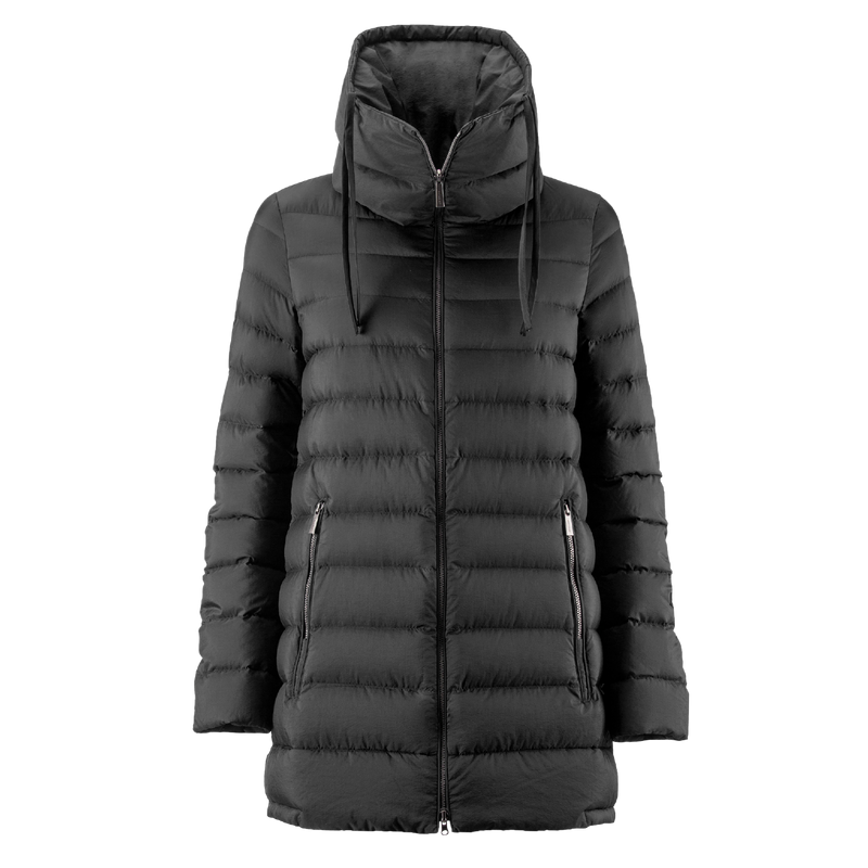 MINEA LIGHT DOWN COAT - Joutsen - black
