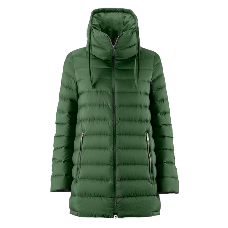 MINEA LIGHT DOWN COAT - Joutsen - forest night