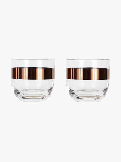 Tom Dixon - Tank Whiskey Glasses Set Of 2