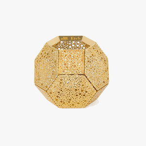 Tom Dixon - Etch Dot Brass Candleholder