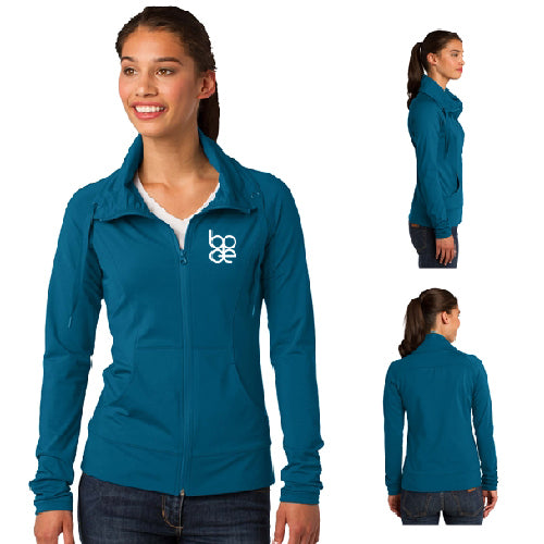 Sport-Tek® Ladies Sport-Wick® Stretch Full-Zip Jacket