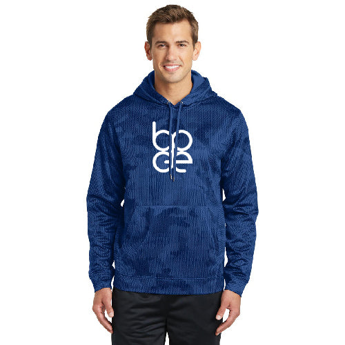 Sport Tek Sport Wick Camohex Fleece Hooded Pullover Bode Central Looks ggod and less casual than a fleece with a fuzzy finish. bode central