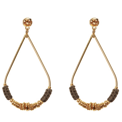 Zizanie Earrings Small Gold
