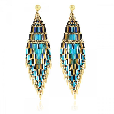Ulla Earrings Gold