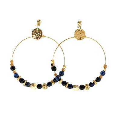 Anemone Blue Earrings