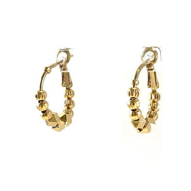 Pia Petite Cube Earrings